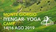 ESTATE 2019: MONTEGIORGIO YOGA CAMP IYENGAR®
