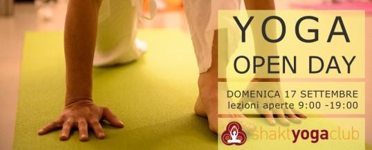 YOGA OPEN DAY 2017