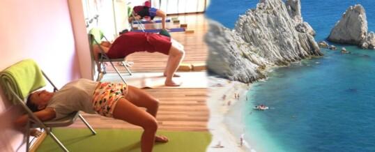 ESTATE 2021 Intensivi IYENGAR® Yoga & Mare – Ancona e Riviera del Conero